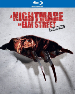 Nightmare on Elm Street collection blu art