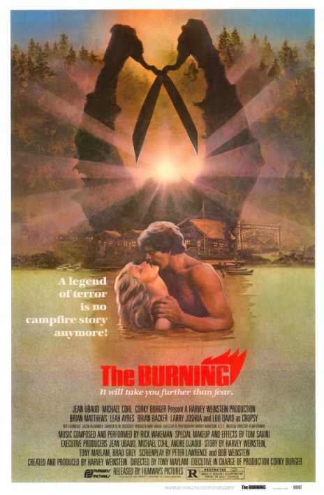 The Burning movie poster