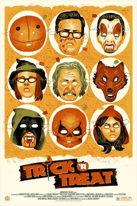 Trick R Treat Mondo poster