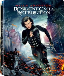 Resident Evil Retribution Best Buy Exclusive Steelbook blu art