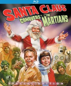 Santa Claus Conquers the Martians blu art