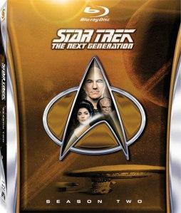 Star Trek TNG Season 2 blu art