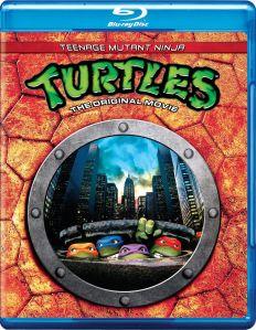 Teenage Mutant Ninja Turtles bluray art