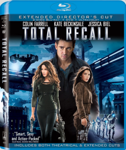 Total Recall 2012 blu art