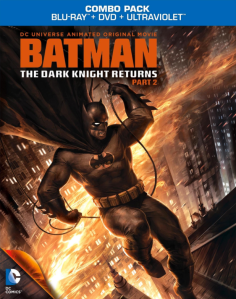 Batman The Dark Knight Returns Part 2 blu art