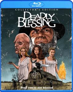 Deadly Blessing blu art