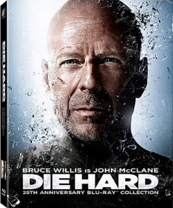 Die Hard 25th Anniversary collection blu art