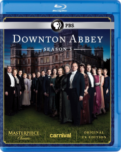 Downton Abbey S3 blu art