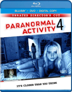 Paranormal Activity 4 blu art
