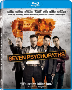 Seven Psychopaths blu art