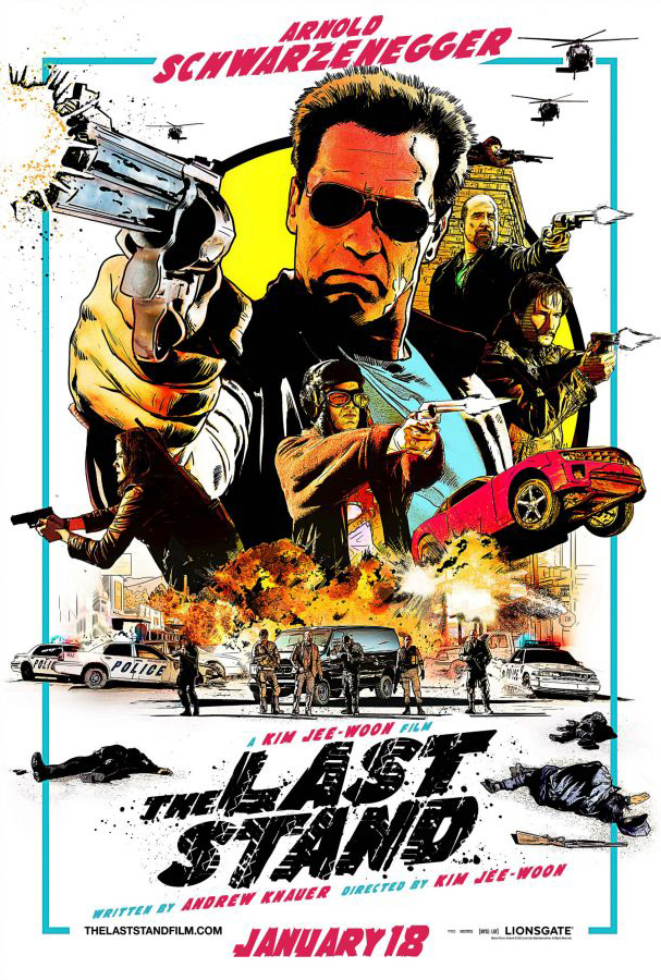 The Last Stand alternate poster