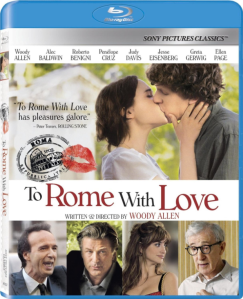To Rome with Love blu