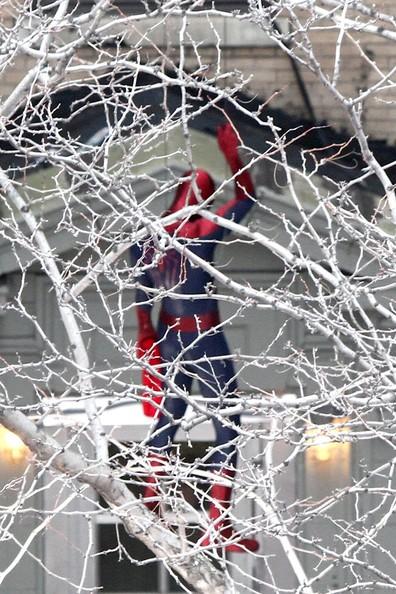 Amazing Spider-Man spy set photo