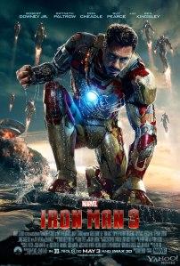 Iron Man 3 hero poster