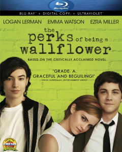 Perks of Being a Wallflower blu art