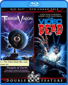 TerrorVision and The Video Dead blu art