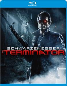 The Terminator blu art