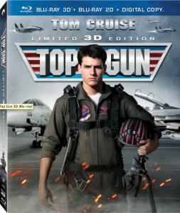 Top Gun 3D blu art