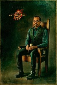 Hunger Games Catching Fire Beetee poster