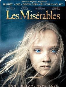 Les Miserables Best Buy Exclusive Steelbook blu art