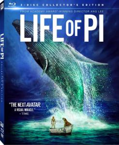 Life of Pi 3D blu art