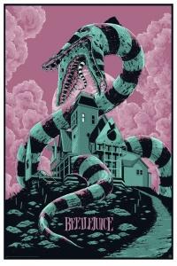 Mondo Beetlejuice poster by Ken Taylor