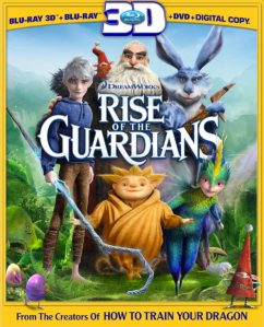 Rise of the Guardians blu art