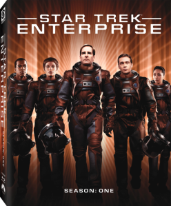 Star Trek Enterprise blu art