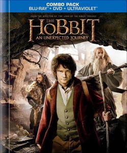 The Hobbit blu-ray Walmart digibook exclusive art