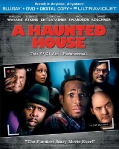 A Haunted House blu art