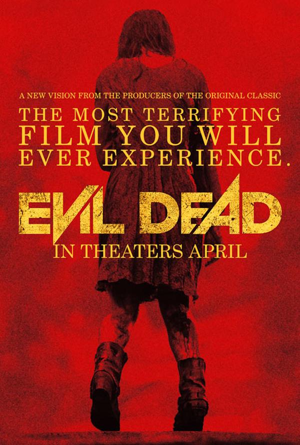 Evil Dead red poster