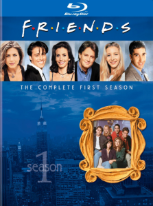 Friends Season One blu art