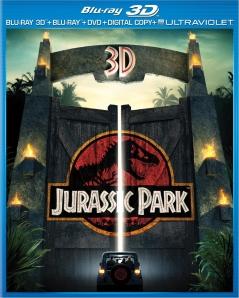 Jurassic Park 3D blu art