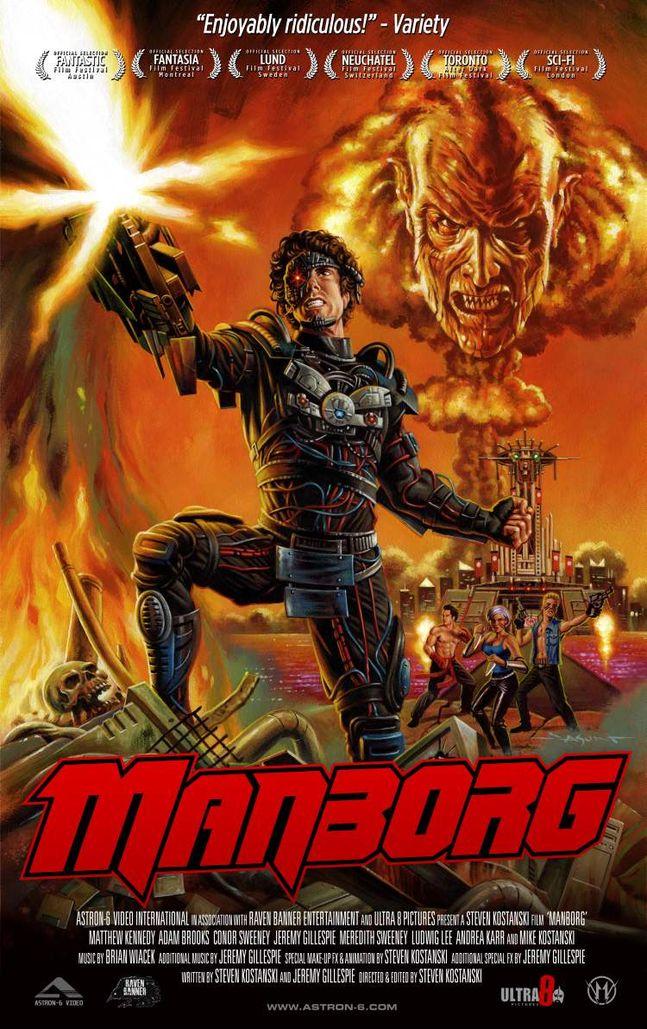 Manborg poster