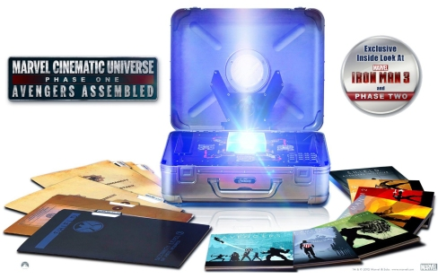 Marvel Phase One box set