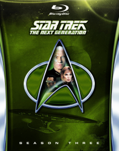 Star Trek TNG Season 3 blu art