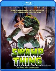 Swamp Thing blu art