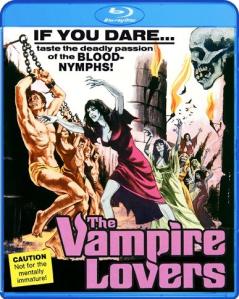 The Vampire Lovers blu art