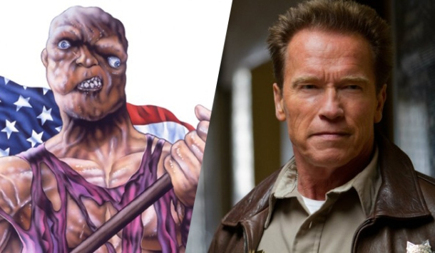 arnold and toxie together