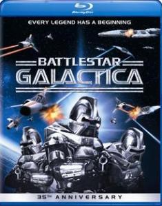 Battlestar Galactica (1978) blu art