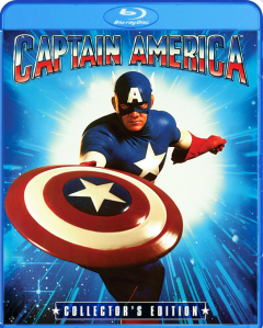 Captain America 1990 blu art
