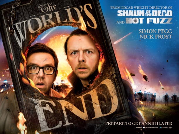 New Worlds End quad poster