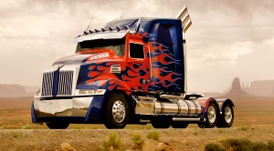Optimus Prime redesign on T4