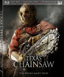 Texas Chainsaw 3D blu art