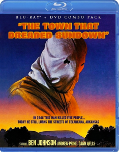 The Town that Dreaded Sundown blu art