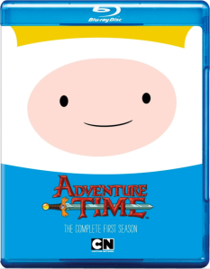 Adventure Time S1 blu art