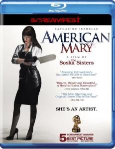 American Mary blu art