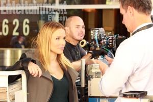 Behind the scenes of Veronica Mars movie