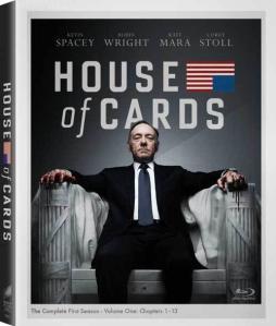House of Cards Season 1 blu art