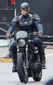 New Captain America suit